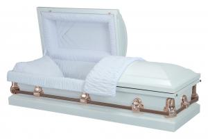 Apollo White Casket