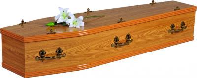 Clare Oak Coffin
