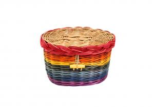 Rainbow Willow Cremation Urn
