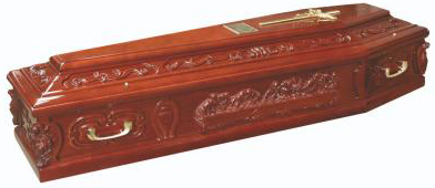 Last Supper Coffin