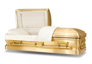 Majestic Gold Casket