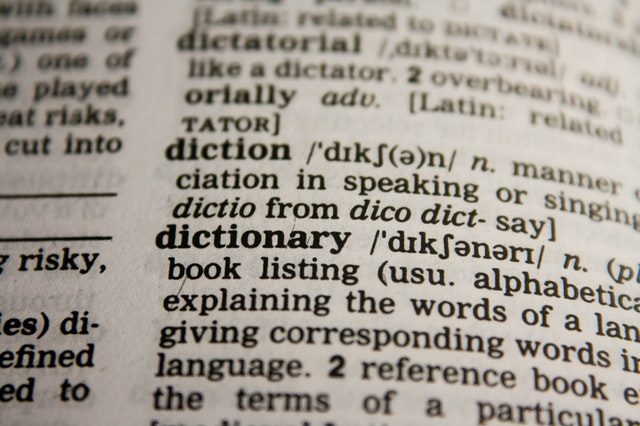 A glossary of terms